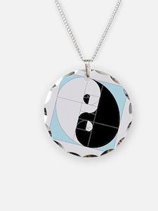 Golden Ratio Yin Yang Necklace