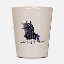 Ima Fuckin Unicorn /Black Shot Glass