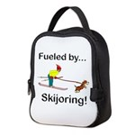 Fueled by Skijoring Neoprene Lunch Bag