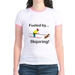 Fueled by Skijoring Jr. Ringer T-Shirt