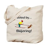 Fueled by Skijoring Tote Bag