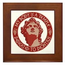 dionysus-temple-T Framed Tile