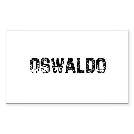 Oswaldo Rectangle Sticker