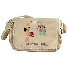 Blood Drives Messenger Bag