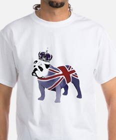 English Bulldog and Crown Shirt