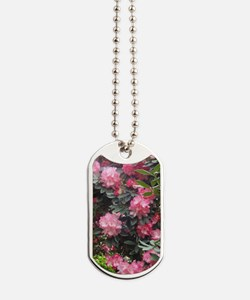 Flowers - Rhododendrons Dog Tags
