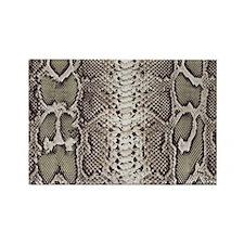 Snakeskin Animal Print Rectangle Magnet