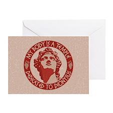 dionysus-temple-OV Greeting Card