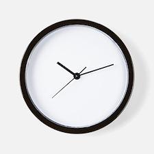 Papillon Dog Designs Wall Clock
