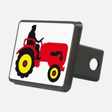 farmer with a tractor Hitch Cover