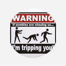 "Zombie Trip 3.5"" Button"