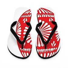 red-36483 Flip Flops