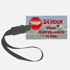 Stop - Video Surveillance Luggage Tag