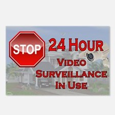 Stop - Video Surveillance Postcards (Package of 8)