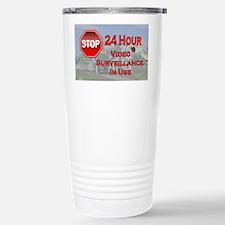 Stop - Video Surveillan Travel Mug