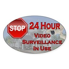 Stop - Video Surveillance Decal