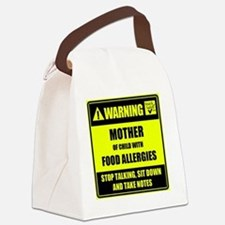 WARNING- MOTHER! Canvas Lunch Bag