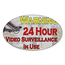Warning - Video Surveillance Decal