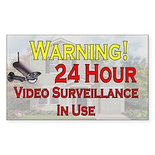 Warning - Video Surveillance Decal