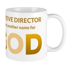 Creative Director is another name for G Small Mugs