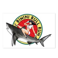 Bimini Bull Run Postcards (Package of 8)
