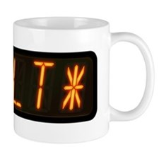 Pinball Machine *TILT* Alphanumeric Dis Mug