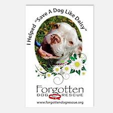 I helped Save a Dog Like  Postcards (Package of 8)