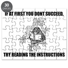 Read the darn instructions Puzzle