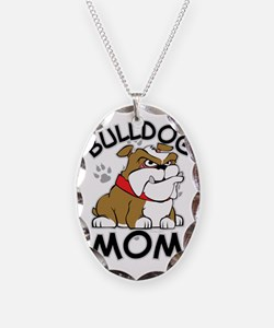 Bulldog Mom Necklace