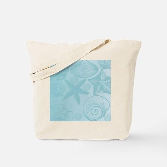 Aqua shells Tote Bag