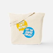 Jumper Cables Tote Bag