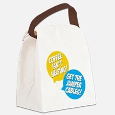 Jumper Cables Canvas Lunch Bag