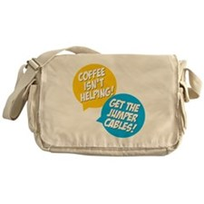 Jumper Cables Messenger Bag