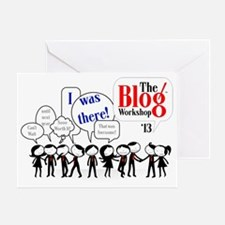 Tbw Conference Tee (red ties) Greeting Card