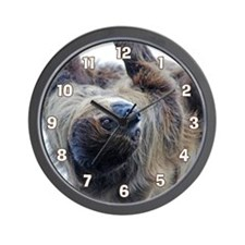 Sloth Large Clock Wall Clock