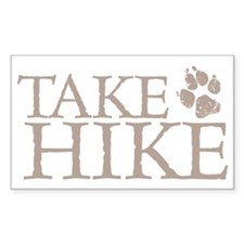 Hiking with Dogs Decal