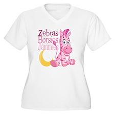 Pink Zebra in Jam T-Shirt