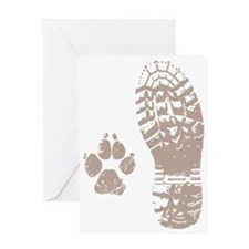 Take a hike Boot n Paw Greeting Card
