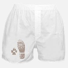 Take a hike Boot n Paw Boxer Shorts