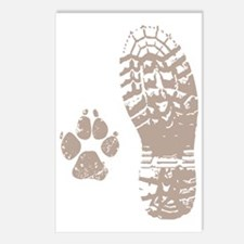 Take a hike Boot n Paw Postcards (Package of 8)