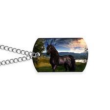 Freisian Horse Dog Tags