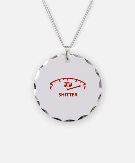 Shitter Was Full Necklace