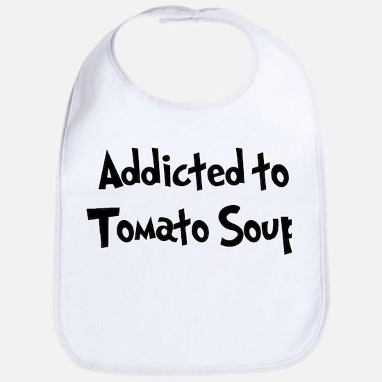 Addicted to Tomato Soup Bib