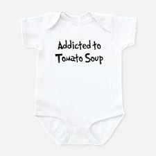 Addicted to Tomato Soup Infant Bodysuit