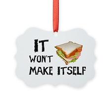 Make me a Sandwich Ornament
