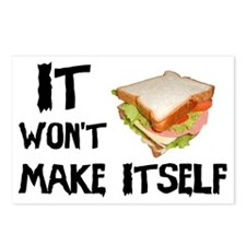 Make me a Sandwich Postcards (Package of 8)