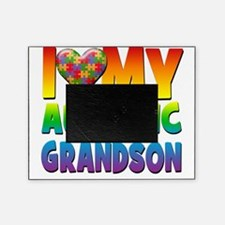 I Love My Autistic Grandson Picture Frame