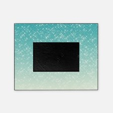 sparkling aqua sea picture frame