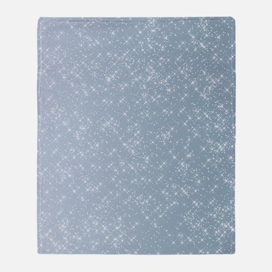 Sparkling Blue Throw Blanket