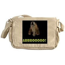 Arrrooooo! Messenger Bag